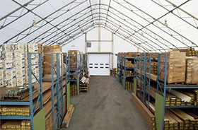 Specialized tent halls - warehouses, garages, hangars for aircrafts, hangars for boats and yachts, wood drying, package storage