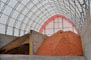 Fabric buildings as a salt, sand and fertilizers storage