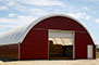 Fabric buildings as a straw and hay storage
