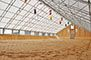 Fabric building as a covered riding arena